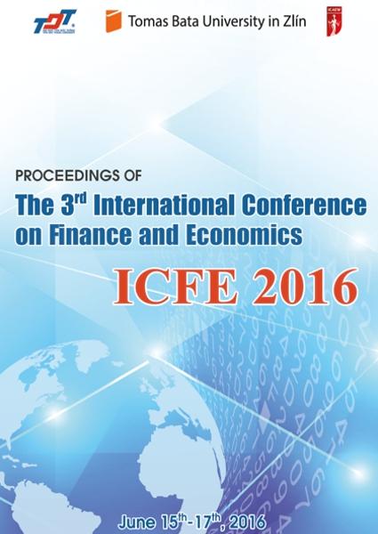 Obálka knihy Proceedings of ICFE 2016