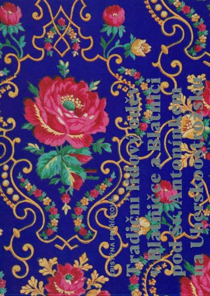 Obálka knihy Tradiční lidový oděv