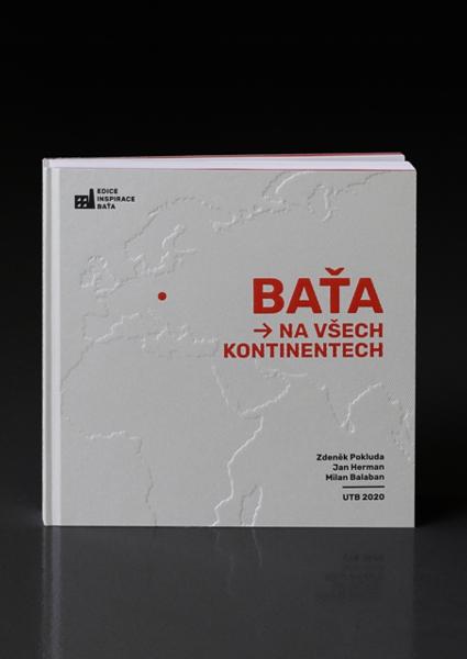 Obálka knihy Baťa na všech kontinentech