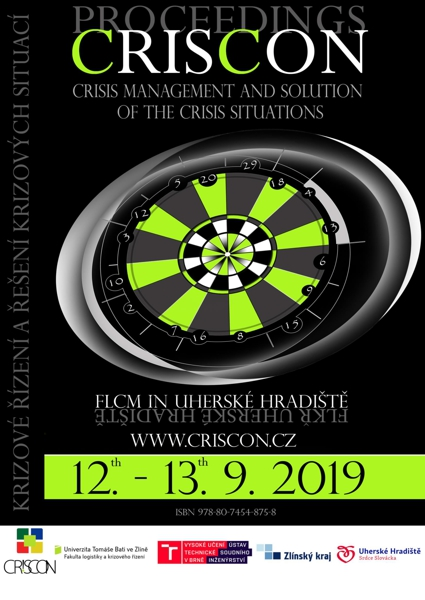 Obálka knihy Krizové řízení a řešení krizových situací 2019