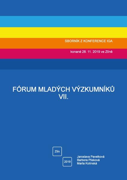 Obálka knihy Fórum mladých výzkumníků VII.