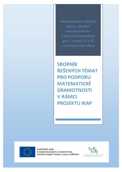 Obálka knihy Sborník řešených témat pro podporu matematické gramotnosti v rámci projektu IKAP