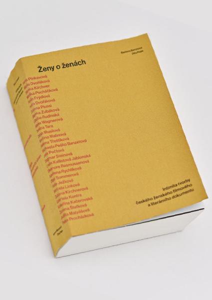Obálka knihy Ženy o ženách